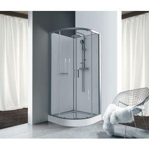 KARA cabine de douche intégrale avec receveur en acrylique
