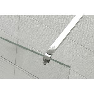 barre de stabilisation orientable fixation sur verre