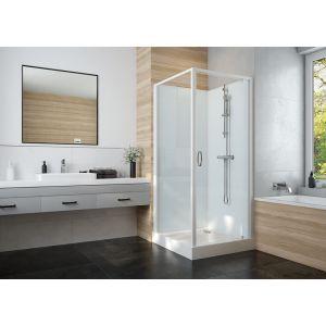 IZI GLASS 2 cabine de douche complète avec porte pivotante accès de face