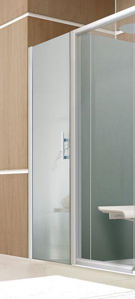 Portillon porte pivotante sur-mesure cabines Bien-Être et Access