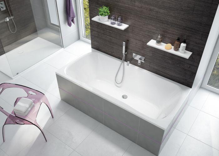 baignoire rectangle garbo