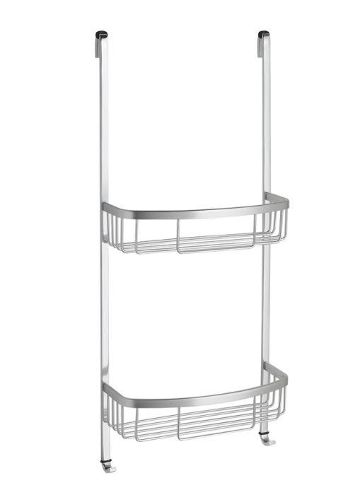 Serviteur de douche en aluminium finition mat