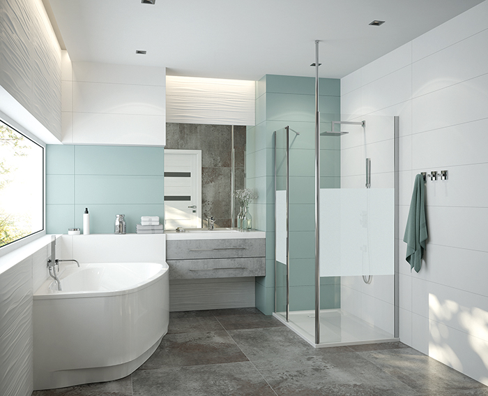 Comment agencer une salle de bains familiale de 7 m² ?